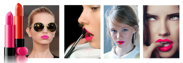 perfect, pout, lipstick, neon, orange, tangerine, red, pink, victoria secret, lips, lipcolor
