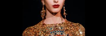 earrings, fashion, trend, luxury, dolce, gabanna